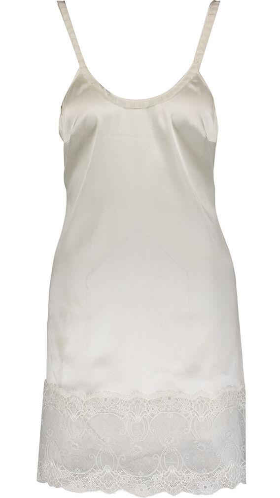 LA PERLA Cream Silk Slip with Lace BNWT