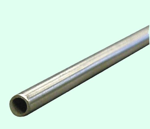 """Round Tubing 304 Stainless Steel  3//8/"""" OD x 6 ft Seamless  0.319/"""" Inside Dia."""