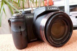 Lumix-FZ100-25-600mm-FAST-NEU-EXTRAS-Digital-Bridge-Kamera-14MP-FullHD