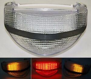 Tail Brake Turn Signals Led Light Clear Fit 2000-2001 HONDA CBR 929RR 929 RR