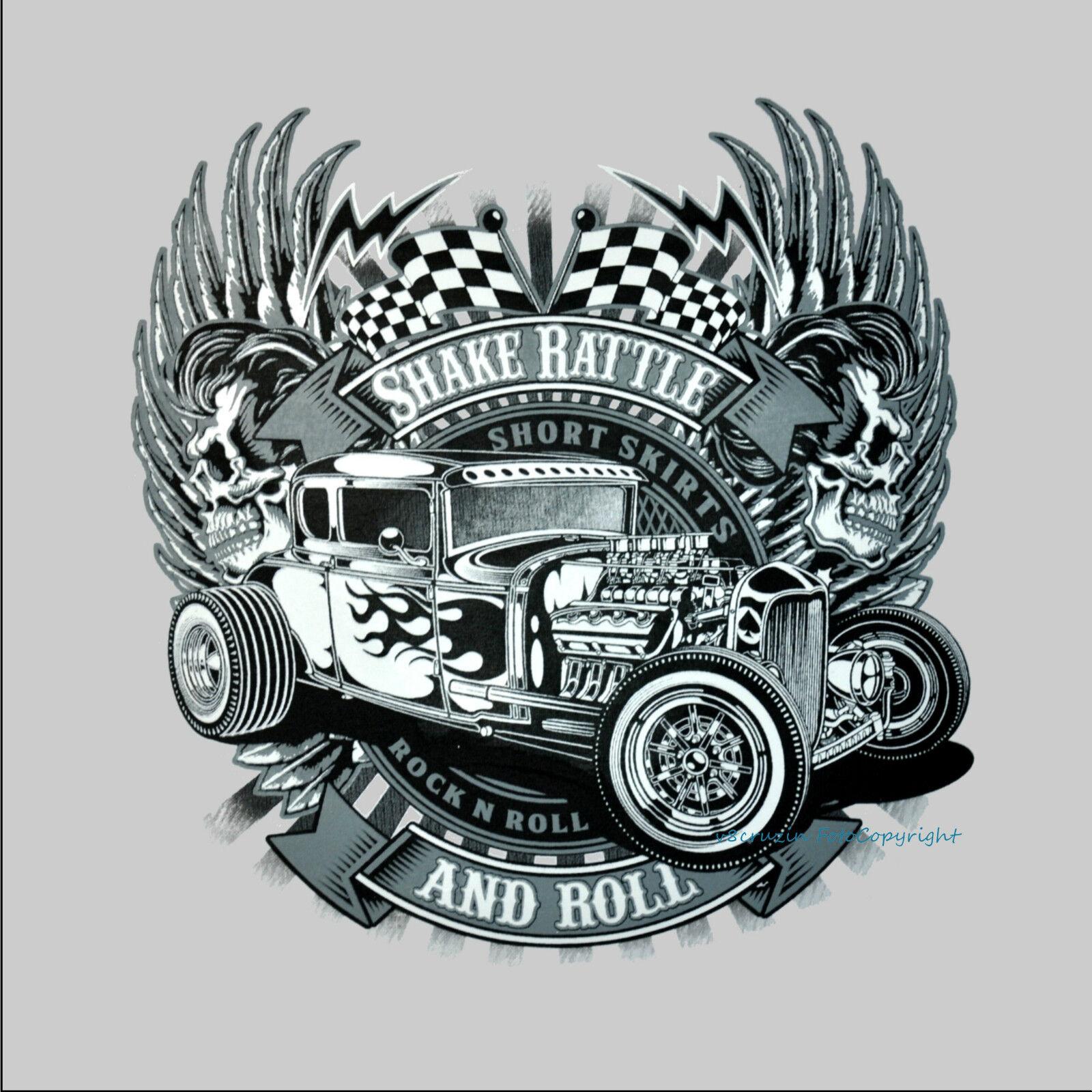 1050 Camicia Maglietta Worker Auto Sportiva Autoracing Rat Garage Vintage Team