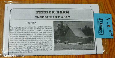 Corte Laser Kit American Model Builders #617 alimentador Celeiro