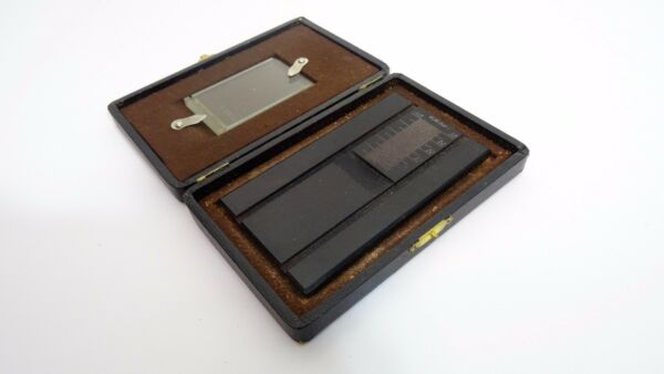 Ancien Appareil Plaque Mesure Photo Médecine Chimie ? Old Measuring Instrument