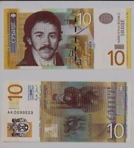 Serbia-10-dinari-2006-FDS-UNC-Pick-46-lotto-2774