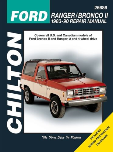 Repair Manual-Base Chilton 26686