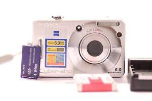 Sony-Cyber-shot-DSC-W50-7-2-1MP-Camara-Digital-Plata