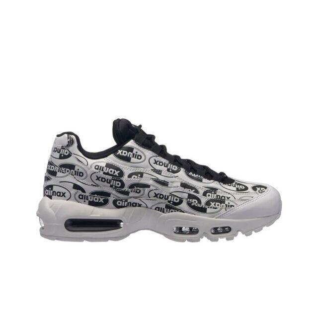 reputable site 2b793 a67c5 Nike Air Max 95 PRM (White White-Black) Men s Shoes 538416-
