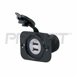 12v dual usb port charger receptacle for club car ezgo for Yamaha golf cart chargers