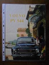 VOLVO PV 544 orig 1959 1960 USA Mkt Sales Brochure - PV544