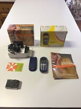Siemens A 56 - Blue AT&T  Cingular Cellular Cell Mobile Phone Vintage Nokia 5165