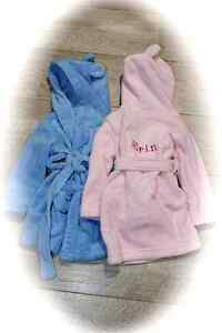 Embroidered-Personalised-Baby-Bath-Robe-Dressing-Gown-with-Ears-Boy-Girl-Gift