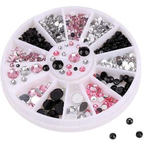 3D-Nail-Art-Tips-gems-colourful-Crystal-Glitter-Rhinestone-DIY-Decoration