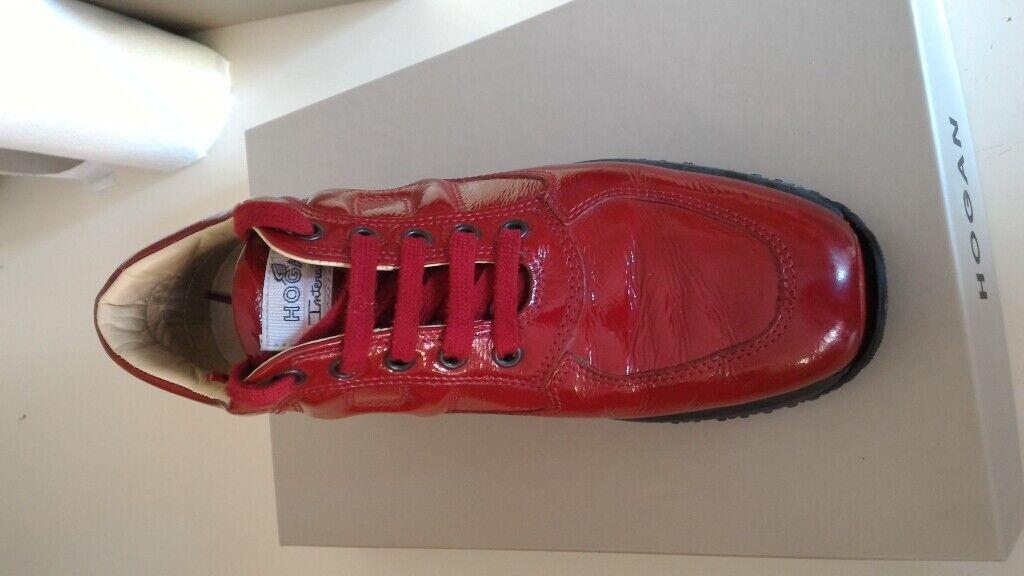 scarpe hogan interactive donna misura 37 e mezzo bordeaux ...