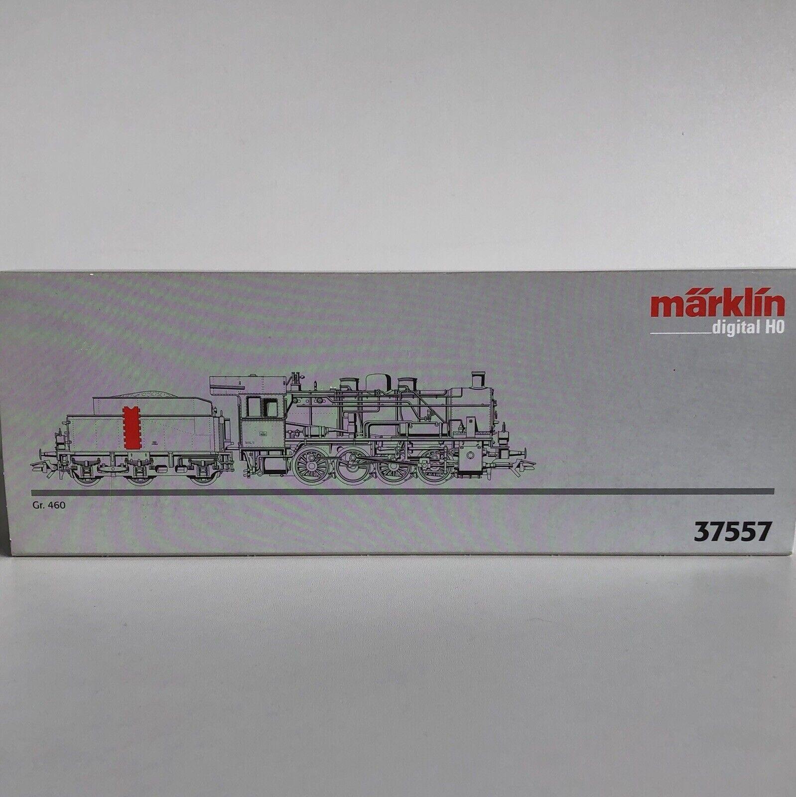 ( ) Marklin 37557 Digital FS Gr 460 037 Steam Lok Italian Railway