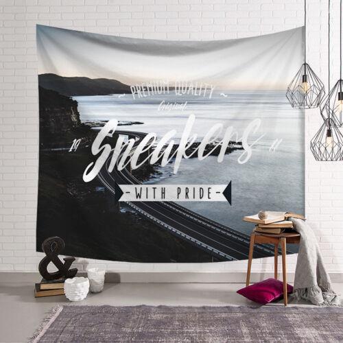 "59×51/"" Tapestry Bedspread Hippie Wall Hanging Beach Towel Yoga Mat Dorm Decor"