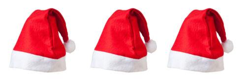 En vrac achète Santa Chapeaux Multi Acheter En Gros 3 6 12 Feutre Rouge /& Blanc Noël Chapeaux