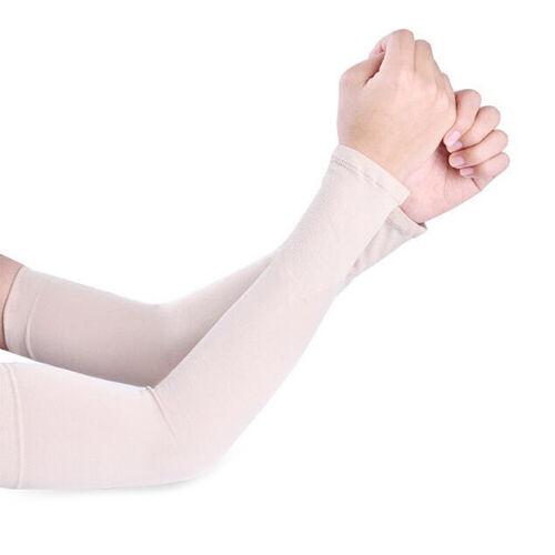 Ultra Slim Men Women Arm Sleeves Summer Sun UV Protection Driving Arm Covers