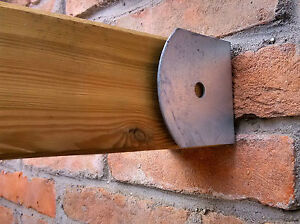 support de poteau pour anchor mur 90x90 support galvanis pour poutre en bois ebay. Black Bedroom Furniture Sets. Home Design Ideas