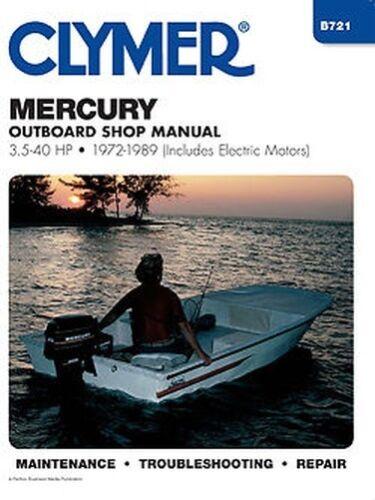 toimitilaa.fi Clymer Reparatur,Shop Manual Mercury 3.5-40hp 1972 ...