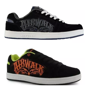 Wonderful Airwalk Mens TripleX Skate Shoes Padded Ankle Collar Lace Fastening Trainers