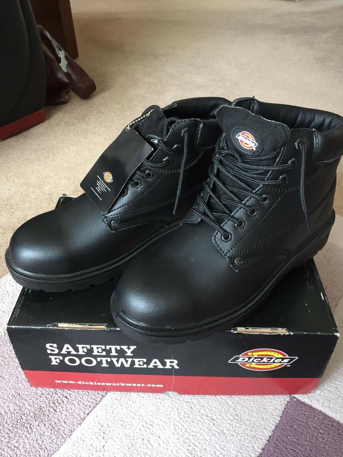 Dickes work boots Antrim Steel Toe Cap BNIB SIZE 10