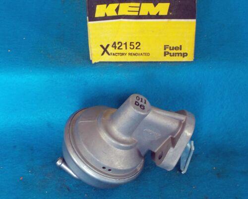 """1975 1986 GM 6cyl 250/"""" 292/""""  Rebuilt Fuel Pump KEM 42152 41089"""