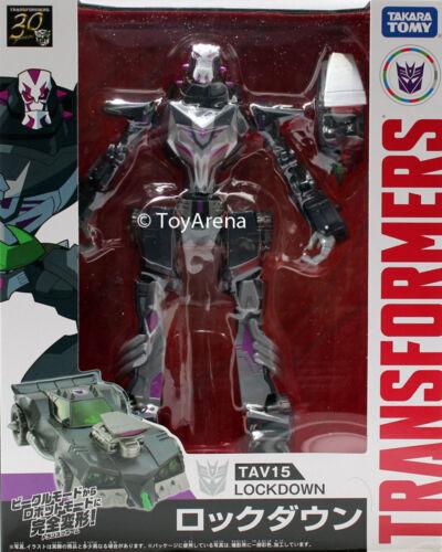 Transformers Adventure TAV15 Lockdown Action Figure en stock USA Vendeur