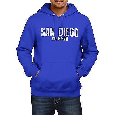 Aktiv San Diego California American Home State Hoodie Mens America Womens Usa Chargers Bequem Und Einfach Zu Tragen