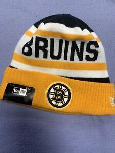 Boston Bruins NHL Beanie Hat Cap One Size Made By New Era Stanley Cup Finals