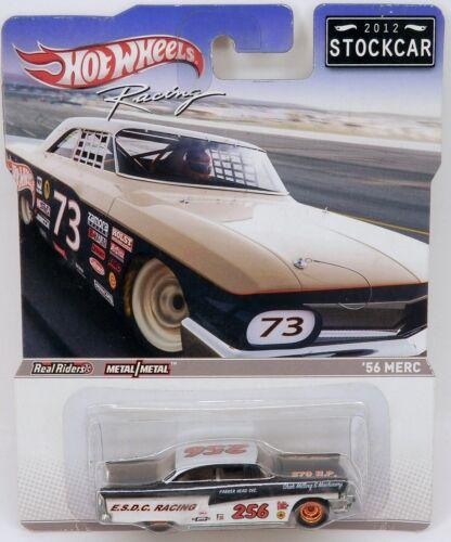 Hot Wheels 1957 Mercury Black//White 2012 Stockcar Series /'57 Merc Vintage Racer