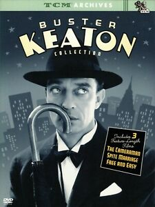 BUSTER KEATON 3-Film Collection TCM Archives (DVD, 2004, 2-Disc Set)