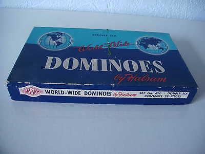 Dominous By Halsam, Double Six World Wide, Set Nr. 670, 28 Pieces GroßE Vielfalt