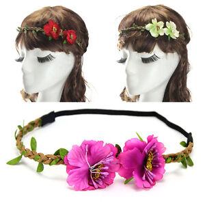 Femme,Accessoires,Cheveux,Couronne,Fleur,Bandeau,Serre,tete,