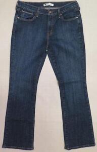 L-N-LEVI-039-S-515-Women-039-s-Bootcut-Denim-Blue-Jeans-10M-30-x-31-w-FREE-SHIP-USA