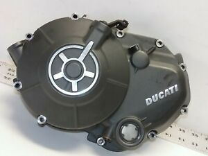 Ducati-2016-SCRAMBLER-Engine-Motor-Cover-Fits-Most-WET-CABLE-Clutch-Models-USED