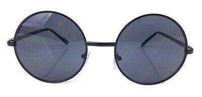 OVERSIZED Vintage Retro Boho Bohemian Hippie Round Circle Women Sunglasses