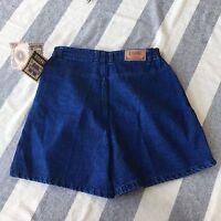 Vtg 80's Gitano Women's 14 Denim Jean Shorts High Waisted 100% Cotton