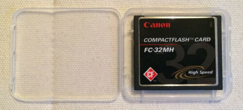SanDisk//canon Compact Flash CF-card 32mb sdcfb