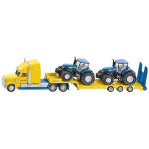 Truck-2-New-HOLLAND-tractores-Siku-187-tractores-1805-Escala-Super
