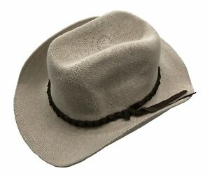 Jacaru Sun Hat Cotton Mens Wide Brim Crushable Cream Band Sun ... a31a42d063c9
