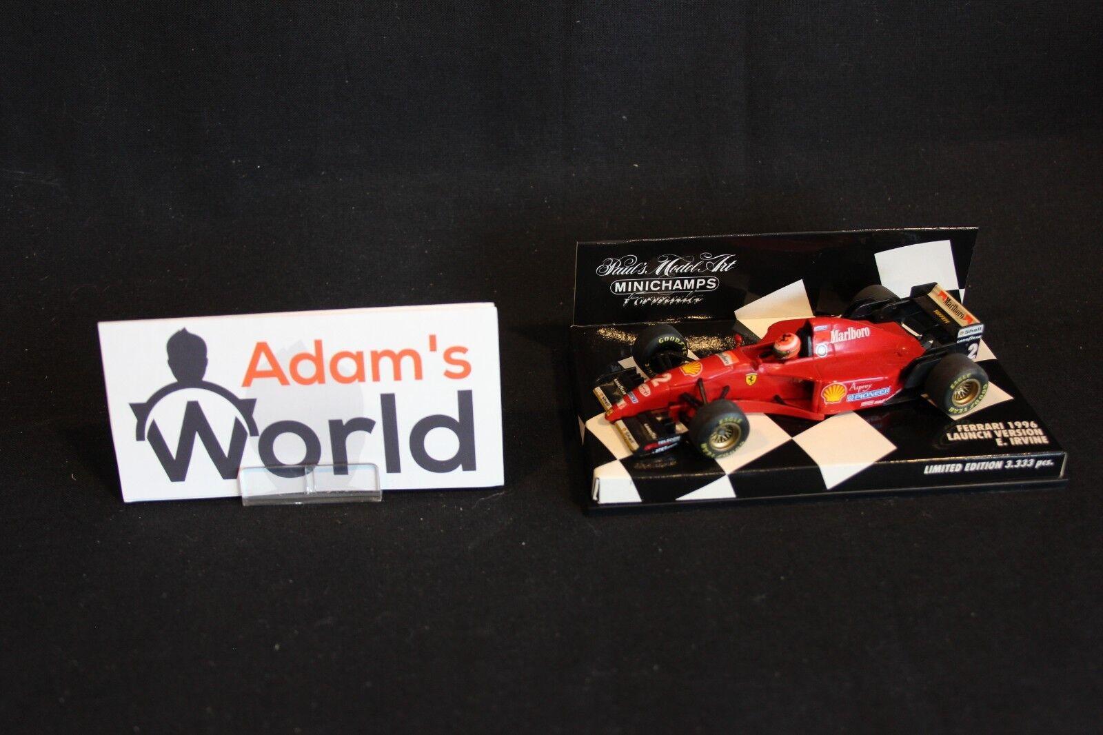 Minichamps Ferrari Launch 1996 1 43 Eddie Irvine (GBR) (MM1) Marlboro