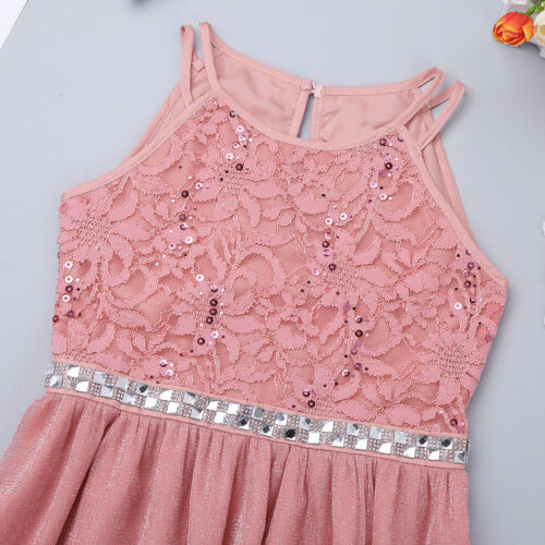Flower Girl Princess Dress Pageant Wedding Birthday Party Bridesmaid Kid Dresses