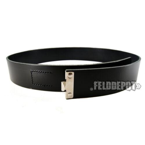 RW Lederkoppel Koppelriemen 110cm Leder schwarz WH black belt Koppel