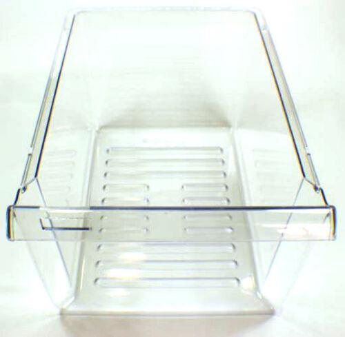 2256704 Whirlpool Refrigerator Crisper Pan Half Trans OEM 2256704