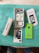 Brand New Apple iPhone 5C 16GB Green T-Mobile Clean IMEI Simple Mobile +GIFT