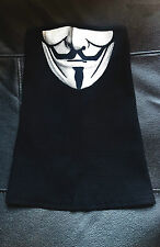 Anonymous Biker Half Face Mask Scarf Motorcycle Cotton Mens Motorcyclist Bandana