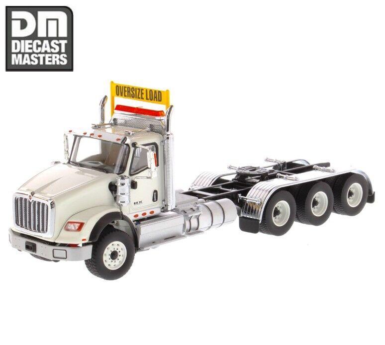 Diecast Masters 1 50 Trailer Head 71007 Int'l HX620 Day Cab Tandem Tractor bianca