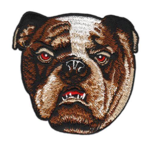 An14 inglesa Bulldog Patch perro boxer perchas imagen aplicación 8,3 x 8 cm