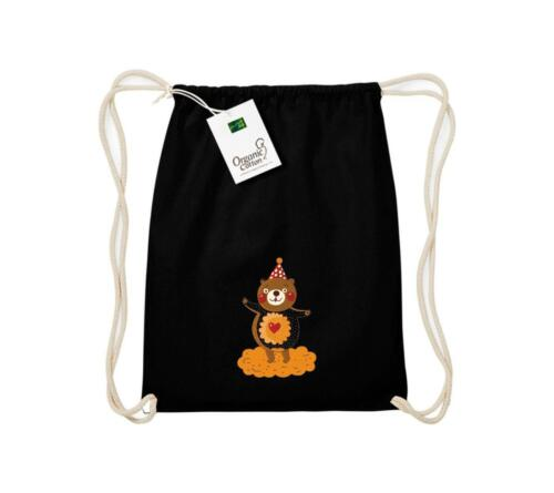 Sporttaschen & Rucksäcke Organic Gymsac mit süßen Motiven Bär
