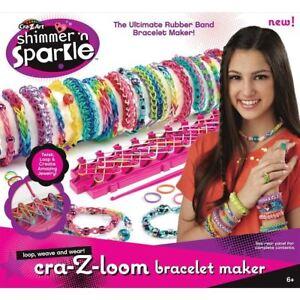 Image Is Loading Cra Z Loom Simmer N Sparkle Bracelet Maker